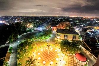 屋上からの夜景1