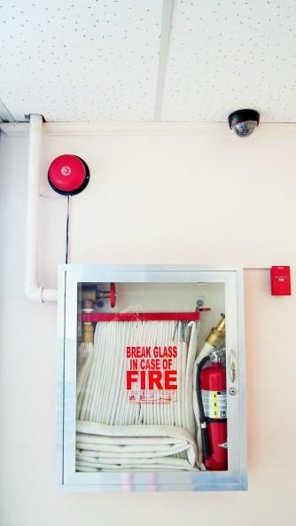 火災時の装備